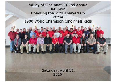 2015 Spring Class Photo