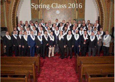 2016 Spring Class Photo