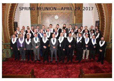 2017 Spring Class Photo