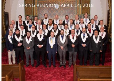 2018 Spring Class Photo