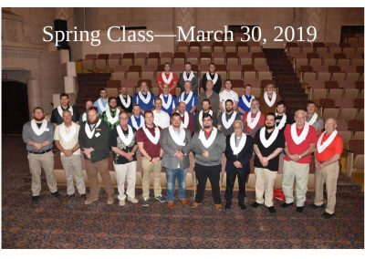 2019 Spring Class Photo